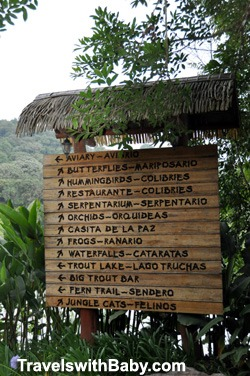 Some of the many attractions you'll want to see on your visit to La Paz Waterfall Gardens in Costa Rica