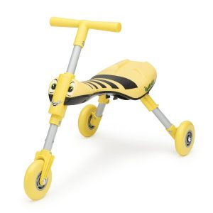 The quicksmart scuttlebug bee ride-on toy for toddlers that travel