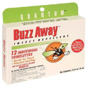 DEET-free insect repllent wipes