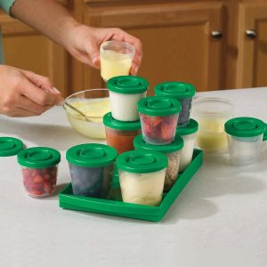 reusable fresh n freeze food storage containers