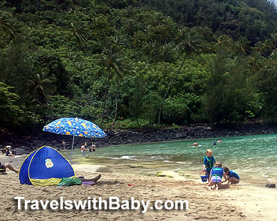 Pack This Pop Up Sun Tent For Family Beach Vacations In