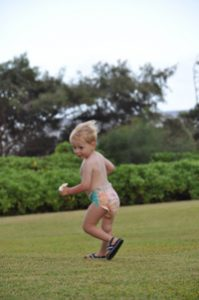 Huggies Hawaiian diapers in Kauai www.travelswithbaby.com