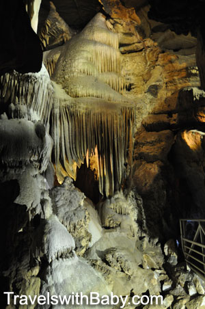 Organ Room in Crystal Cave, Sequoia National Park
