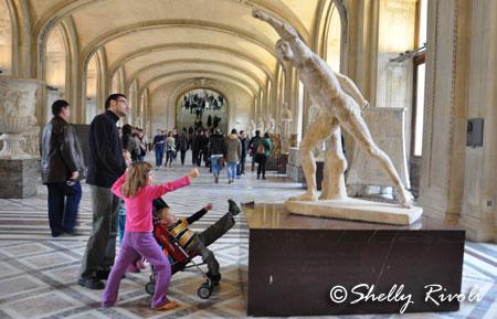 Rivoli family at the Louvre Museum