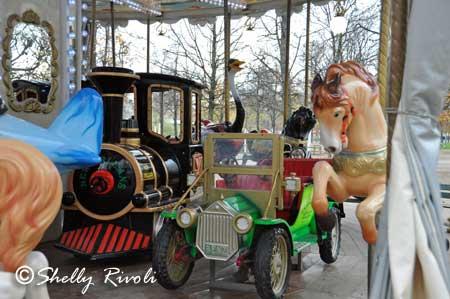 carousel at Jardins des Touileries