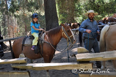 On horseback with Yosemite Trails: Little girl + big dream = comes true