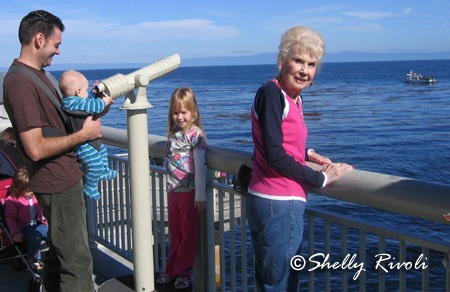 Vacation with grandparents at Monterey, California