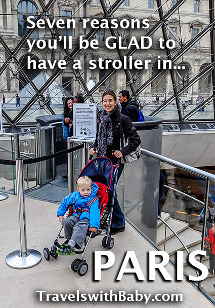 Paris by stroller? It may be easier than you think.