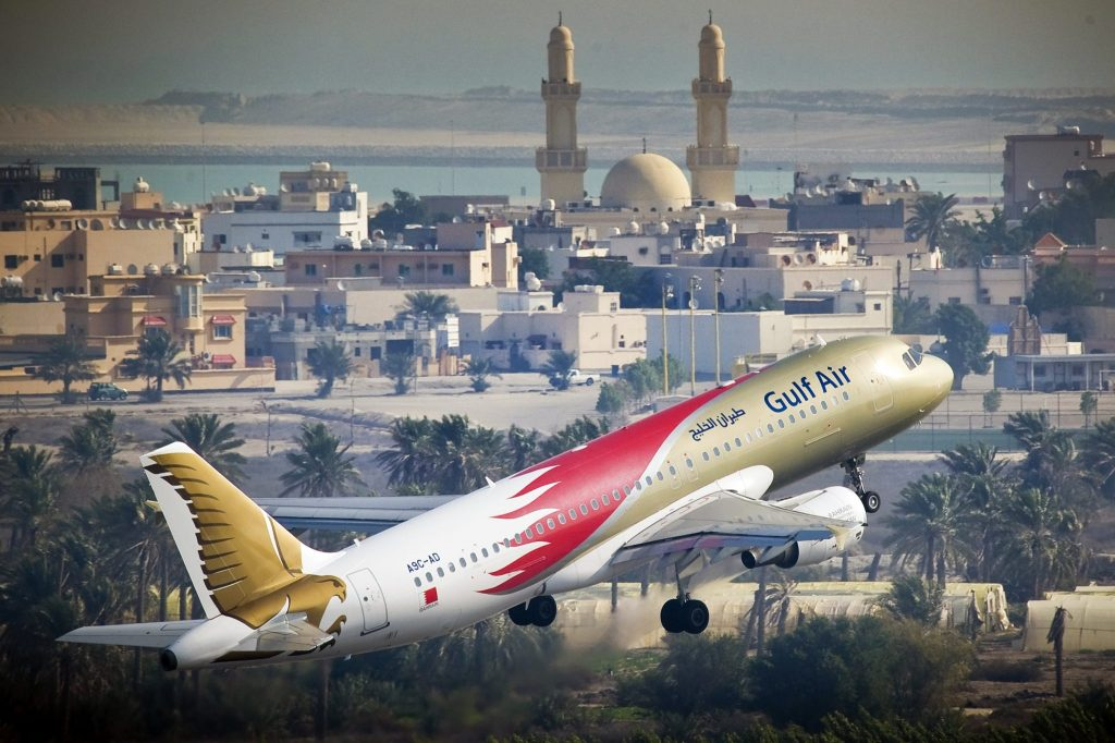 Flying GUlf Air with a baby or toddler