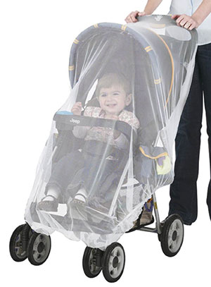 stroller net to prevent mosquito bites