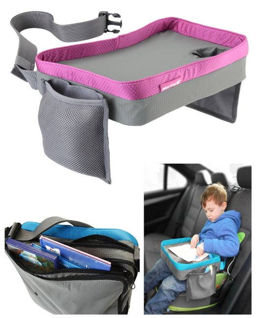 The Kids Play Tray car seat & stroller travel tray.