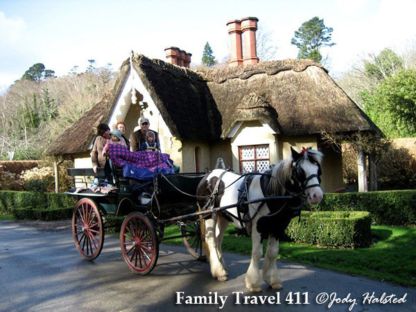 Jump in a jaunting cart and explore County Kerry in style.